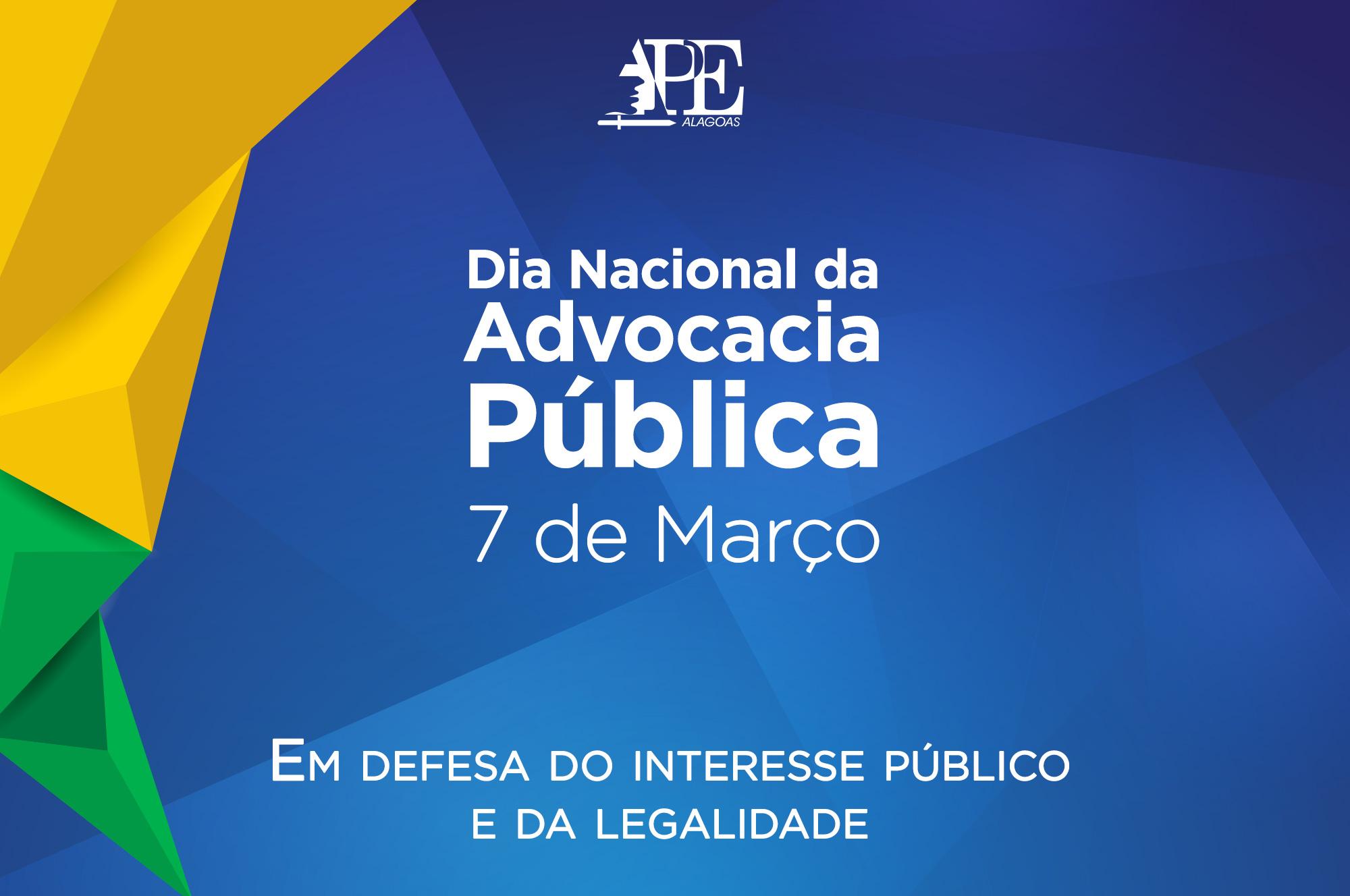 APE/AL destaca atuação dos procuradores no Dia da Advocacia Pública