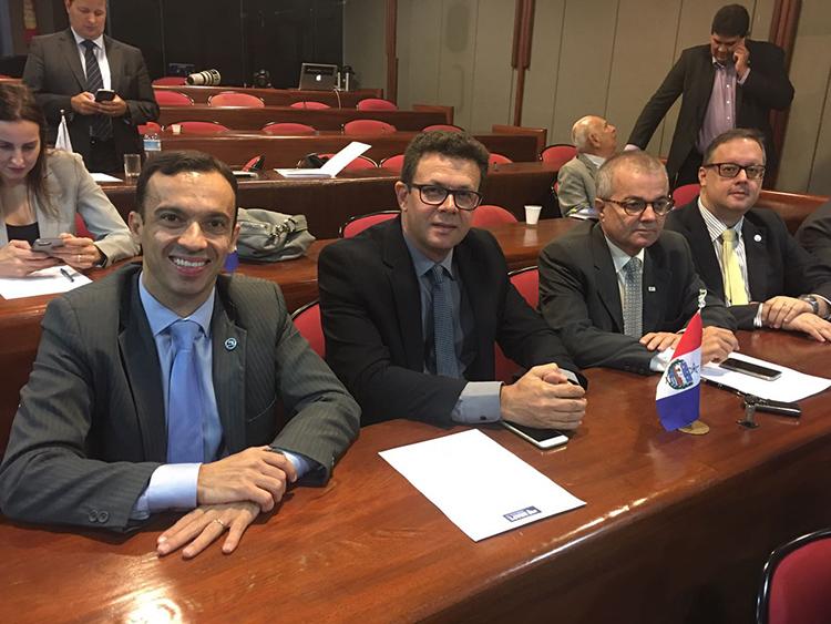 Diretoria da APE/AL participa da última reunião da Anape sob a presidência de Marcello Terto. Posse da nova gestão acontece hoje