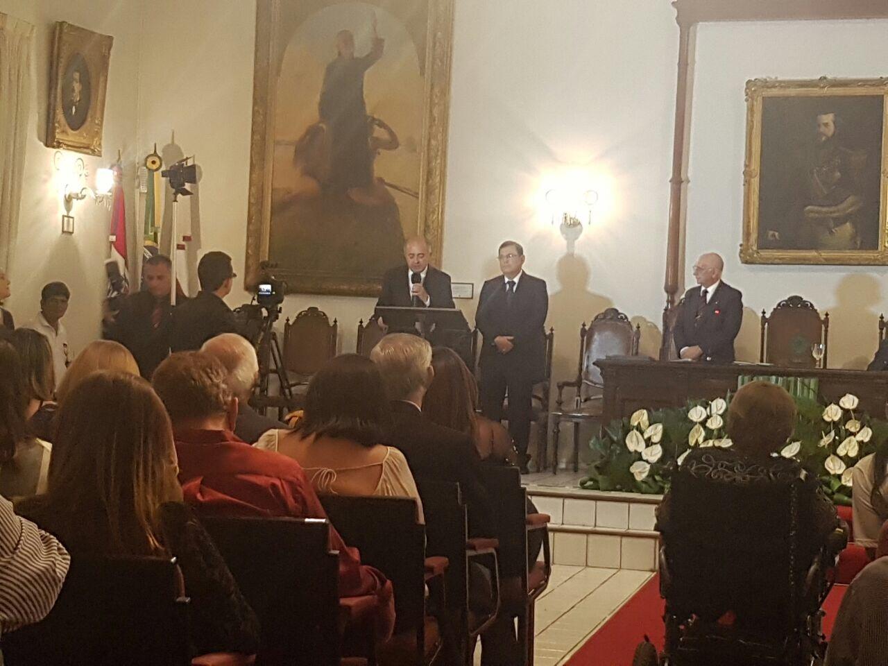 Procurador Arnaldo Paiva toma posse como membro do Instituto Histórico de Alagoas