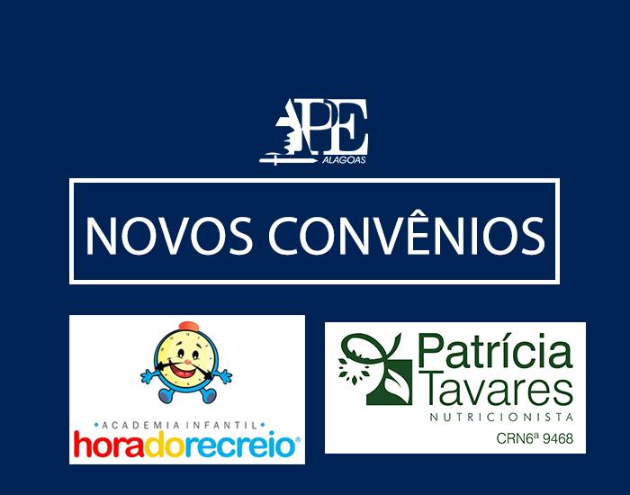 APE firma dois novos convênios: academia infantil e nutricionista