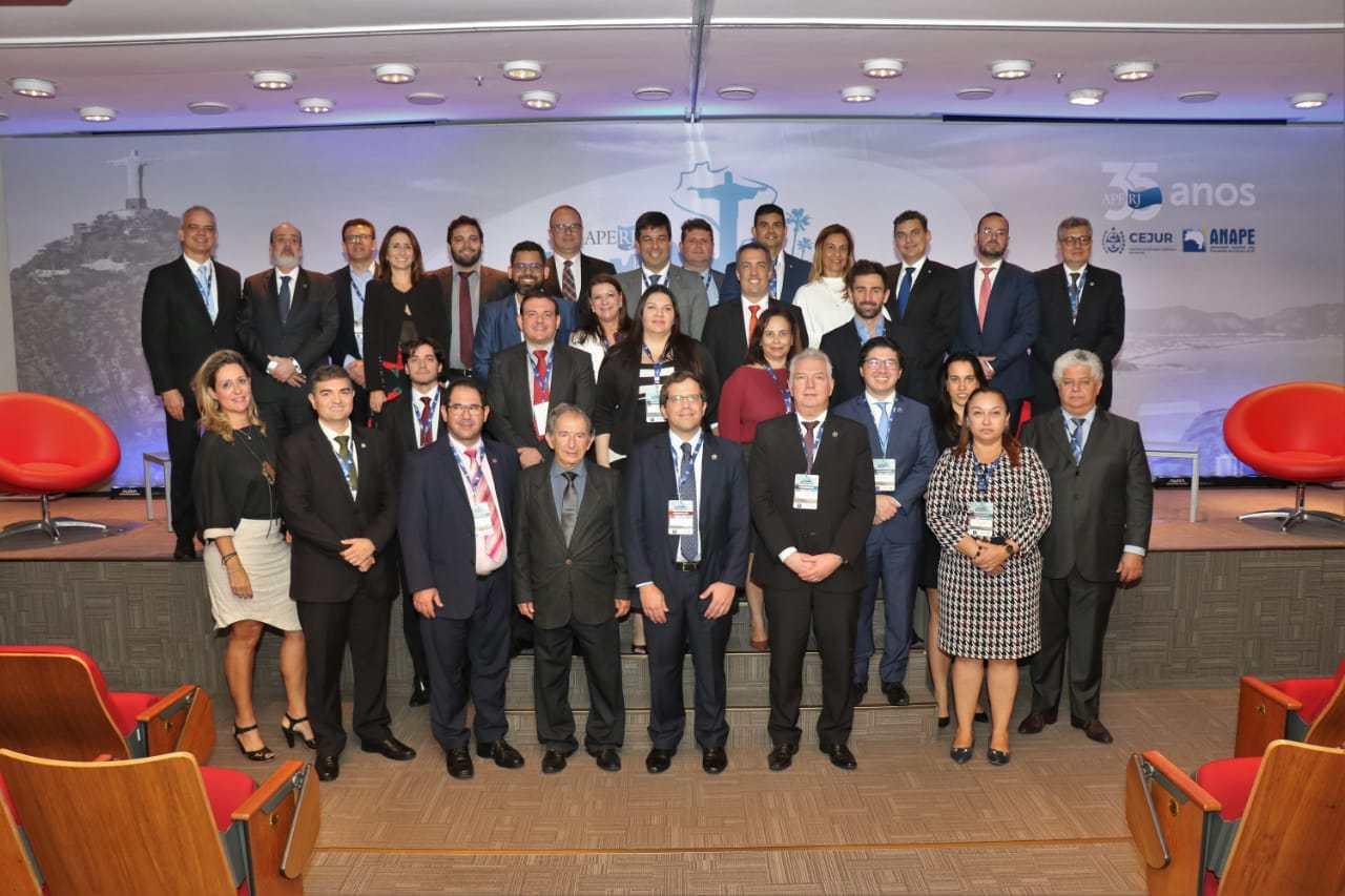APE-AL participa de reunião da ANAPE no Rio de Janeiro