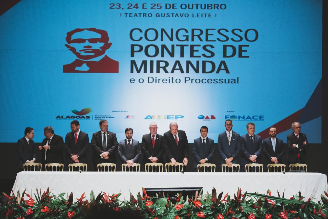 Congresso Pontes de Miranda e o Direito Processual tem início em Maceió