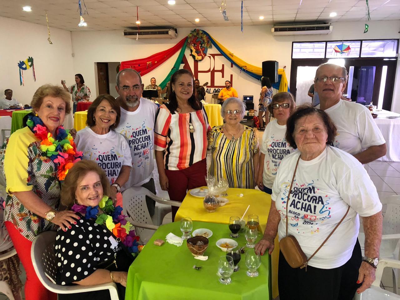 """APE-AL realiza festa de Carnaval com o Bloco """"Quem Procura Acha"""""""