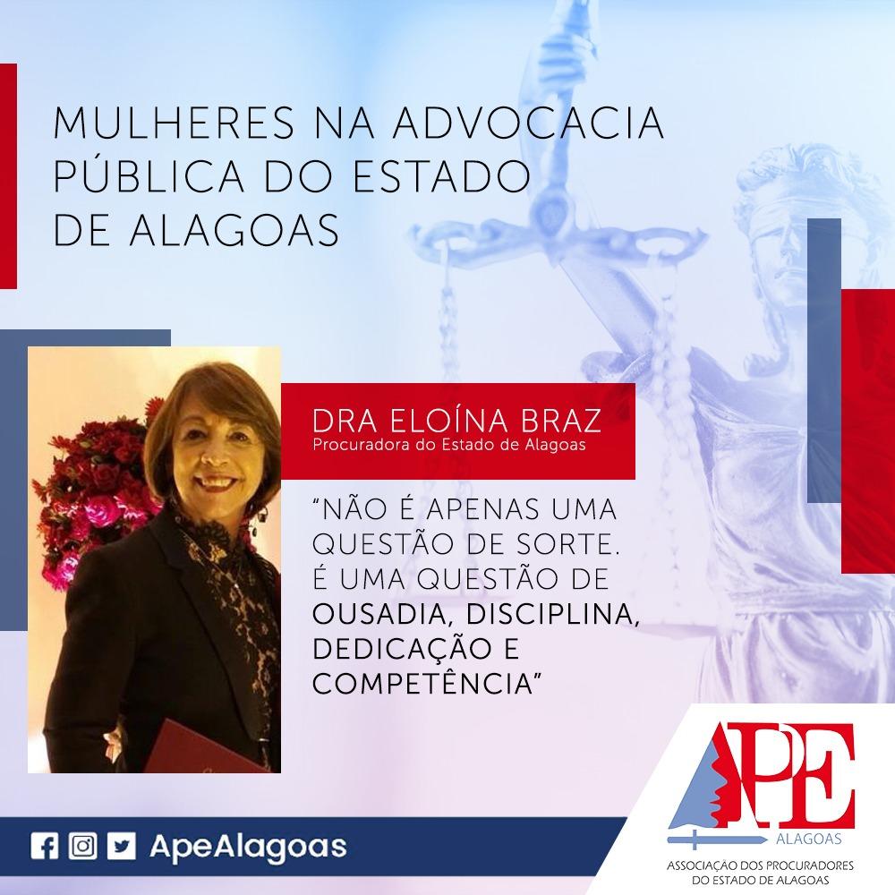 """Eloína Braz: """"Não é apenas uma questão de sorte. As conquistas femininas estão relacionadas à disciplina, dedicação e competência."""""""